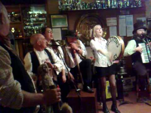 Dr Busker live in Dorset singing Drunk and disorderly
