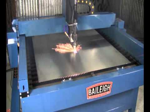 Baileigh Industrial Pt 44s Plasma Table