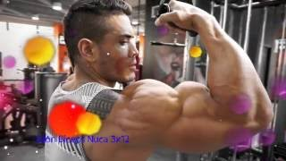 Julian Tanaka - Bíceps gigantes, rutina Intensa y sencilla.