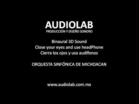 Orquesta Sinfónica Huum Binaural 3D Sound