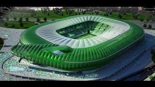 Türkiye'deki Yeni Stadyumlar ve Kapasiteleri