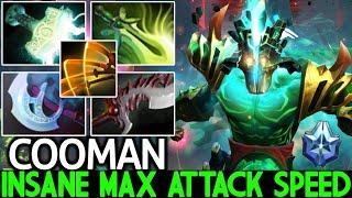 COOMAN [Juggernaut] Max Attack Speed Build Carry Hard Game 7.26 Dota 2