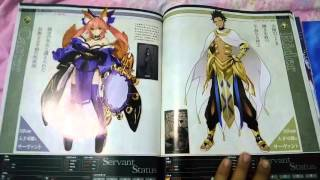 [Review] Fate Grand Order Book