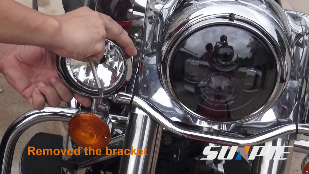 how to install sunpie brand fog lights for harley motorcycle [ 1280 x 720 Pixel ]