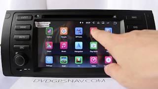 Video 1999-2006 BMW X5 E53 E39 Android 7.1 Navigation Radio DVD GPS Multimedia System download MP3, 3GP, MP4, WEBM, AVI, FLV Juni 2018