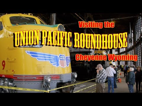 Visiting the Union Pacific Roundhouse in Cheyenne Wyoming