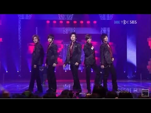 "SS501 ""UR MAN"" (live) - HD 720p"