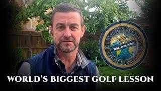 Worlds Biggest Golf Lesson