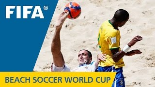 HIGHLIGHTS: Brazil v. Russia - FIFA Beach Soccer World Cup 2015