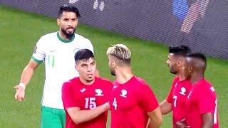 ملخص مباراة السعودية وفلسطين | نتيجة كبيرة وحضور جماهيري بعد غياب 30-3-2021 | تصفيات كأس العالم 2022