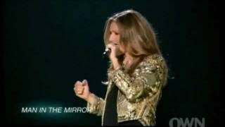 Celine Dion - Michael Jackson Medley (Live In Las Vegas 2011 - Documentary: 3 Boys And A New Show)