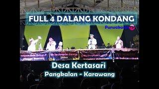 Download Video FULL  4 Dalang Kondang Pagelaran Wayang Golek || Desa Kertasari Kec. Pangkalan Karawang MP3 3GP MP4