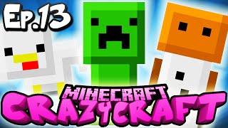 "Minecraft  CRAZY CRAFT 3.0 | Ep 13 : ""INVENTORY PET FRENZY!"" (Crazy Craft Modded Survival)"