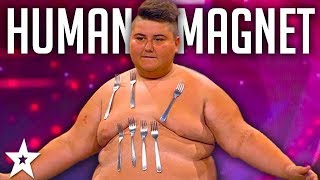 Meet The Human Magnet on Croatia's Got Talent 2017 | Got Talent Global