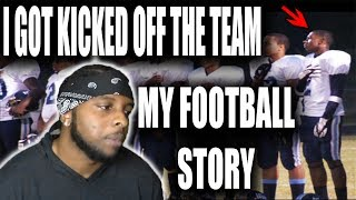 How I Got Kicked Off My College Football Team! College Football Storytime