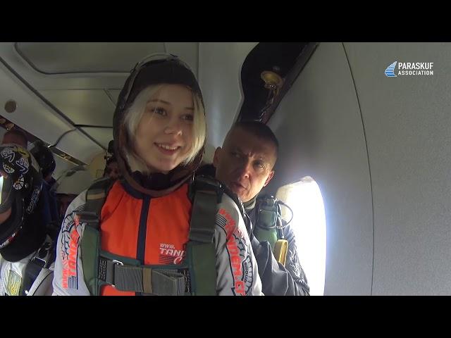 Яркий тандем-прыжок с инструктором на DZ Бородянка