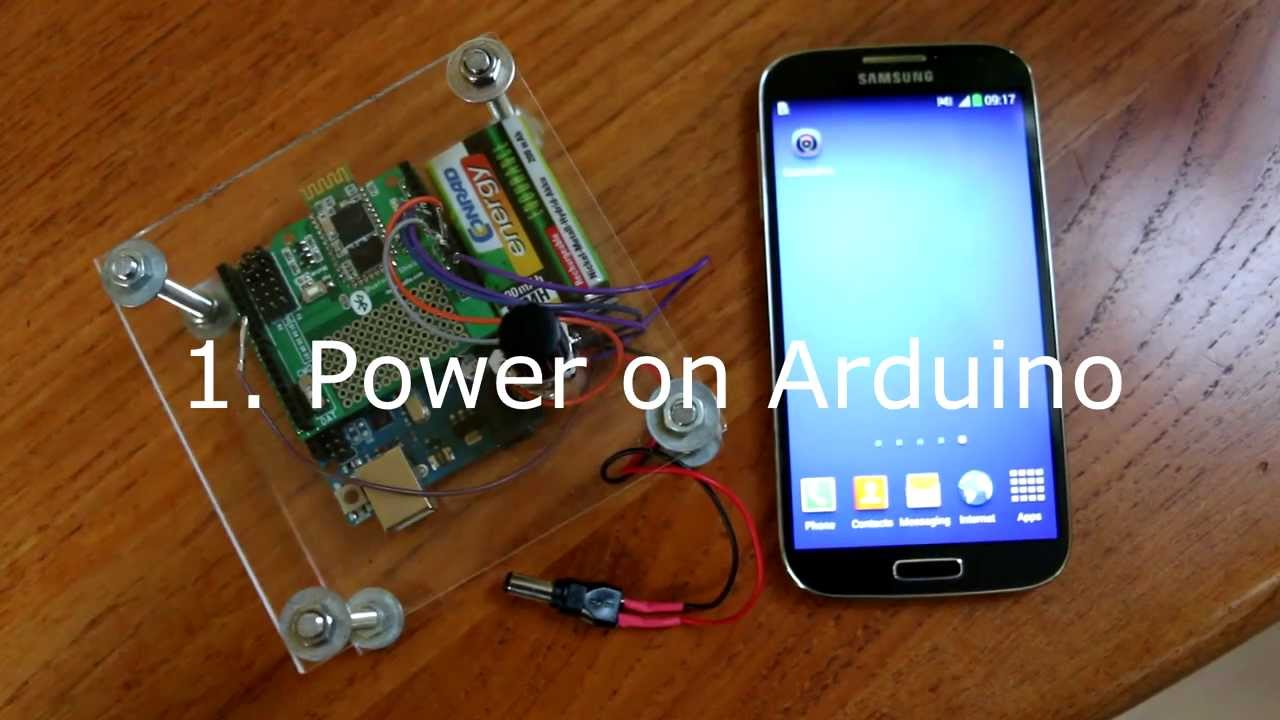 CameraPro/Android: Arduino based Bluetooth camera control