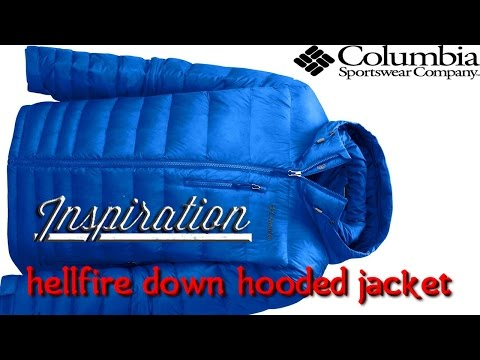 видео: Пуховая куртка Сolumbia hellfire hooded down jacket