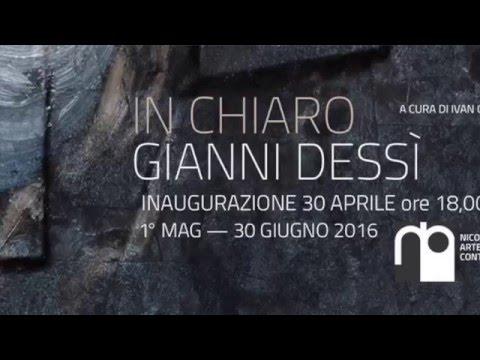 Gianni Dessì Alla Galleria Nicola Pedana Caserta #Ondawebtv
