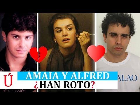 ¿Ruptura a la vista? Amaia y Alfred levantan los rumores de ruptura como pasó con Aitana y Cepeda