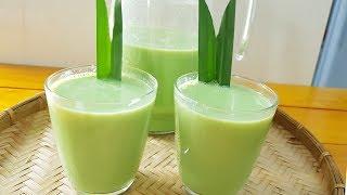 Sữa Đậu xanh Lá dứa || cách làm dễ dàng tại nhà, thơm lừng béo ngậy||Thanh Tâm Food
