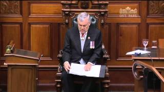 2014-07-03 Speech from the Throne