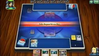 Repeat youtube video Pokemon TCG Online new update (English / German) let`s play