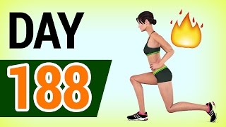 Day 188 - Daily Workout Plan: FAT LOSS AT HOME (103 Calories)