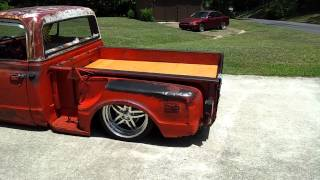 BAGGED C10 CHEVY RAT ROD SHOP TRUCK