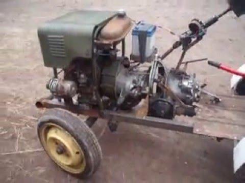 Самодельный кран к трактору - YouTube