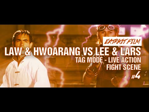 FIGHT SCENE 4 / Law & Hwoarang VS Lee & Lars - Tag mode - Live Action / Kefi Abrikh