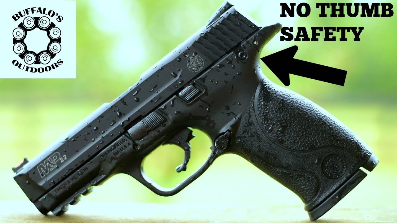 M&P 22 (FULL SIZE) Safety Delete - Clean Look