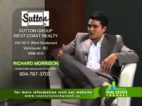 Real Estate Channel Interviews Richard Morrison (Investment Vancouver Real Estat REMAX)