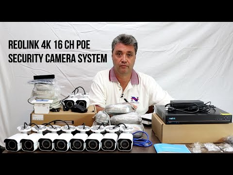 Reolink 4K 16CH POE Security Camera System