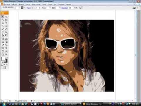 34 Vectorizar Una Imagen y Aplicar Color (Ilustrator) | FunnyDog.TV