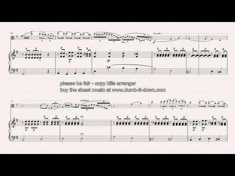 Paganini, N. - Cantabile - for Viola (orig.) & Piano (simplified) (dumb-it-down.com)