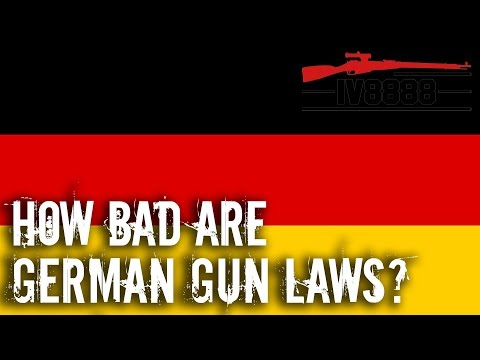 How Bad are German Gun Laws?