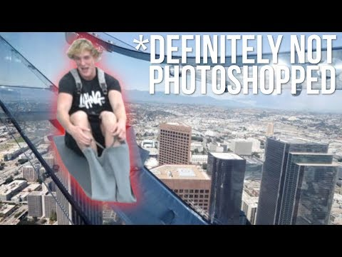 Thumbnail: GLASS SLIDE 1,000 FEET IN THE SKY! *terrifying*
