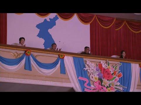 Presidente sul-coreano recebido efusivamente na Coreia do Norte