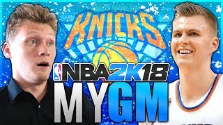 THE KNICKS ARE CURSED! CAN WE END IT THOUGH? NBA 2K18 MyGM #3