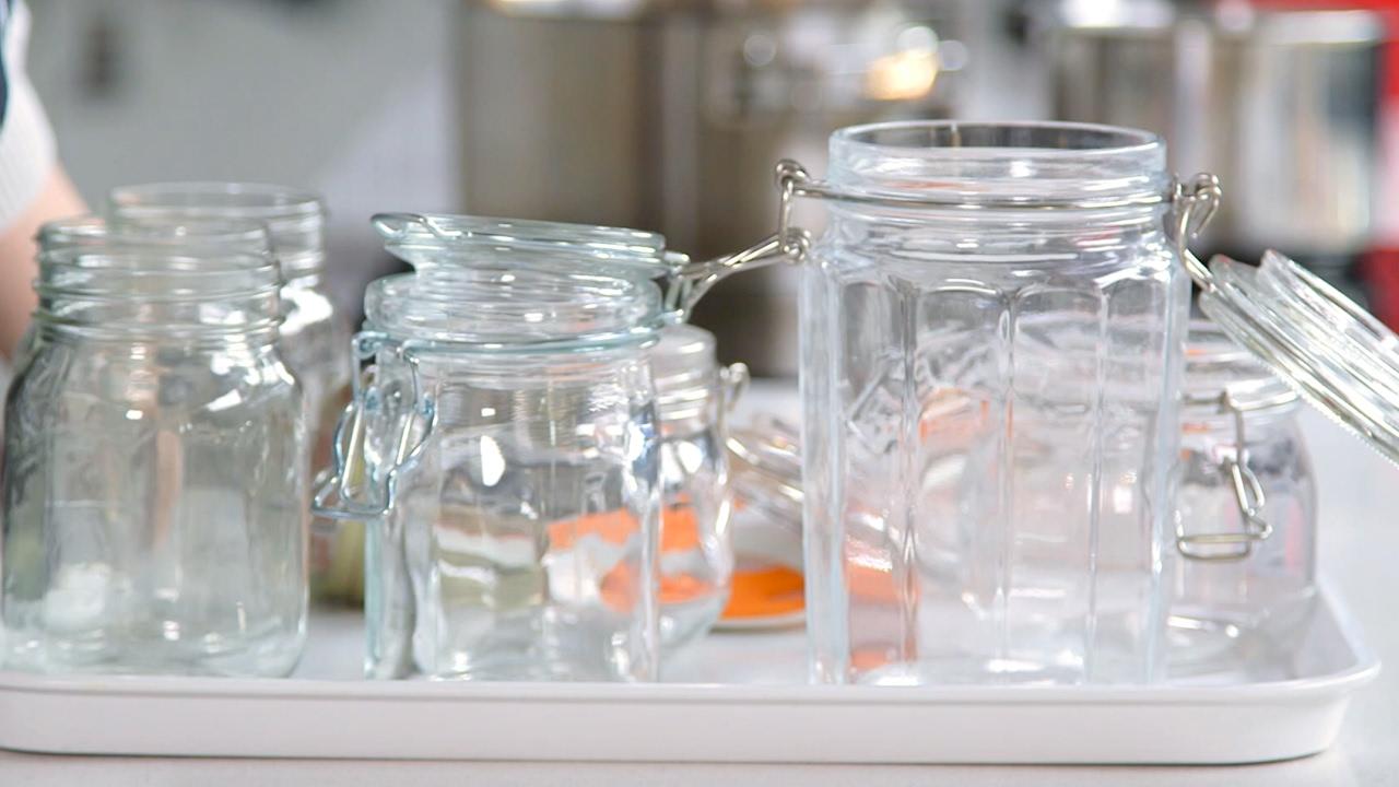 how to sterilise jars bbc good food