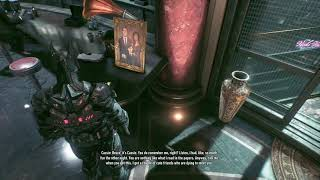 Batman Arkham knight LEX Voicemail Easter Egg