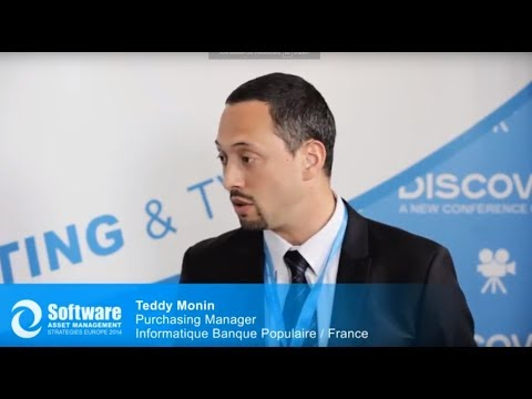 Interview with Teddy Monin, Purchasing Manager, Informatique Banque Populaire / France