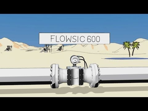 FLOWSIC600 From SICK: Ultrasonic Gas Flow Meter For Natural Gas And Process Gases | SICK AG