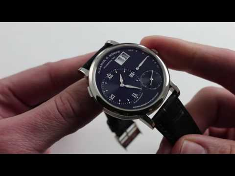 A. Lange & Sohne Grand Lange 1 Luxury Watch Review
