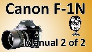 Канон Ф-1Н (Ф-1 нове) відео інструкція 2 з 2