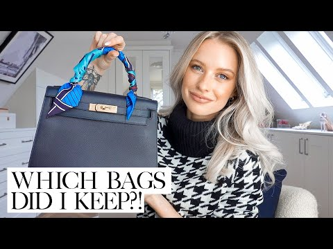 I SOLD HALF OF MY LUXURY HANDBAG COLLECTION  - WHAT DID I KEEP? | INTHEFROW