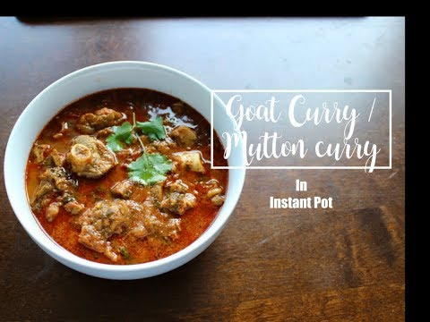 Goat Curry/Mutton Curry In Instant Pot  - Episode 16