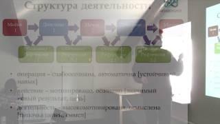 4. Теория и структура деятельности. Микророльная модель. Кухня образовательных форматов