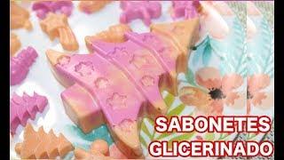 Como Fazer Sabonete Caseiro glicerinado de natal